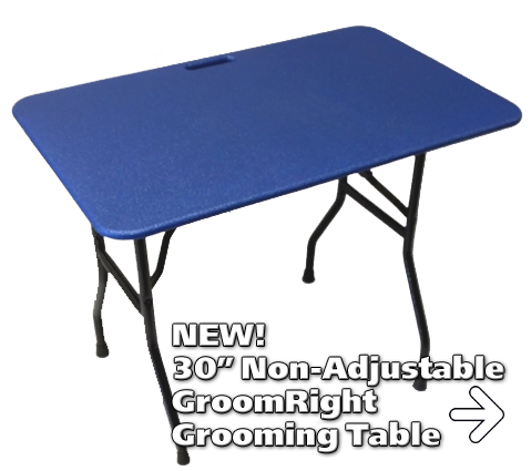GroomRight Medium 30 Inch Non-Adjustable Table